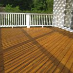 Deck Staining Painting Time Summer Colour