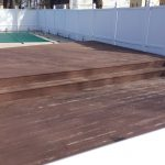 Deck Staining Project Chelmsford Castle Complements Painting Inc