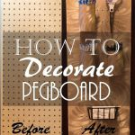 Decorate Pegboard