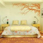 Decorating Bedroom Modern Wall Stickers Paint Designs Ideas Design