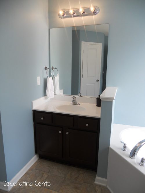 Decorating Cents Master Bathroom