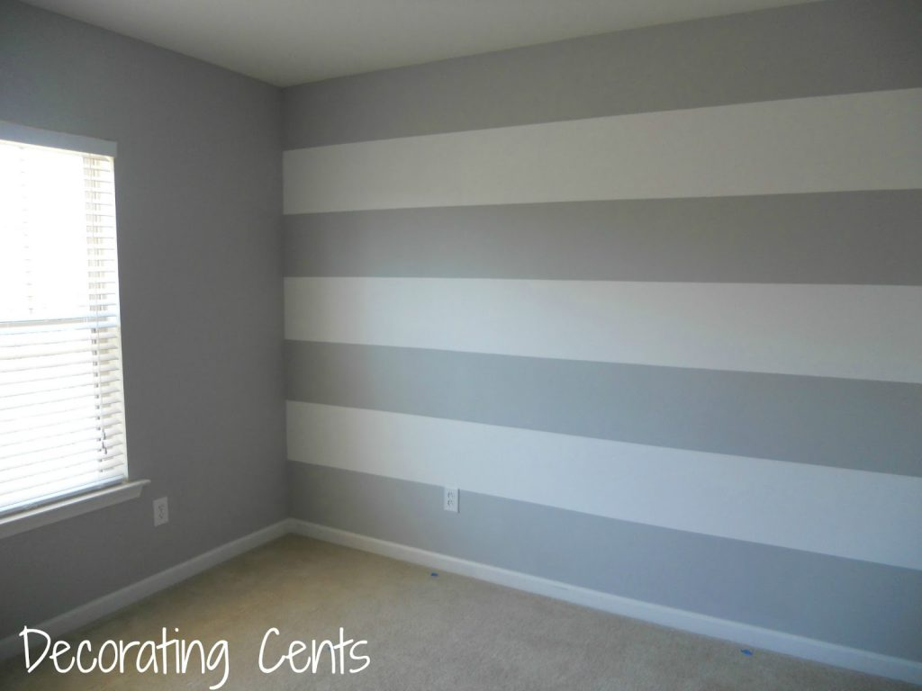 Decorating Cents Painting Striped