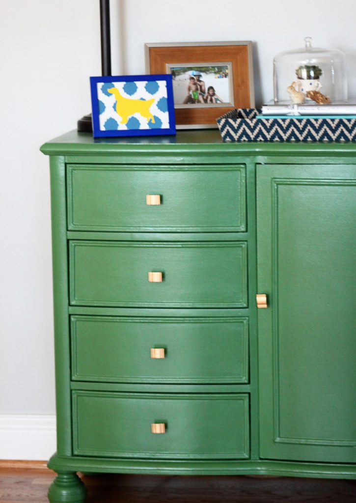 Decorating Painted Dresser Mirabelle