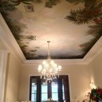Decorative Ceiling Mural Painting Scenic Design Wall Murals Tlc