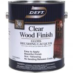 Deft Interior Lacquer Clear Wood Finish