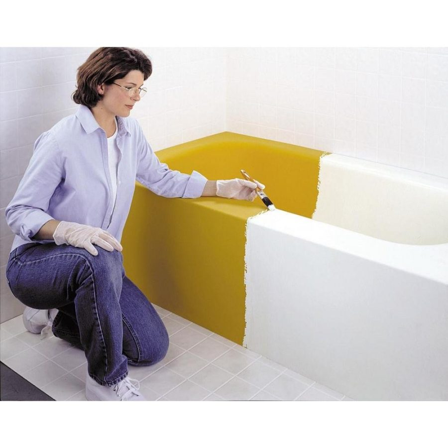 Designs Mesmerizing Epoxy Paint Tub Home Depot White Tub Tile