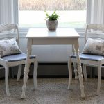 Dining Chair Makeover Strip Paint Recover Chairs Love Grows