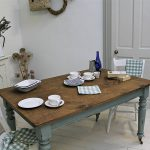 Distressed Painted Pine Kitchen Table But Not Forsaken