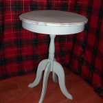 Distressed Shabby Chic Refinished Chalk Painted Accent Side Foyer Table