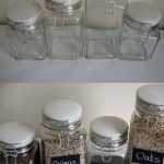 Diy Chalkboard Paint Glass Jars Pumps