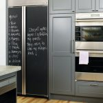 Diy Chalkboard Refrigerator Panels Made