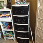 Diy Chalkboard Upgrade Plastic Drawers Living Life Your Own