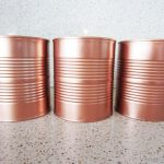 Diy Copper Tin Can Planters Chalkboard