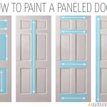 Diy Easy Front Door Painting Mommy Makes