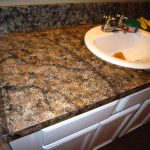 Diy Faux Granite Countertop Without Kit Under Oooh Could