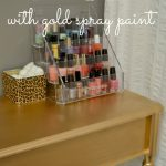Diy Gold Painted