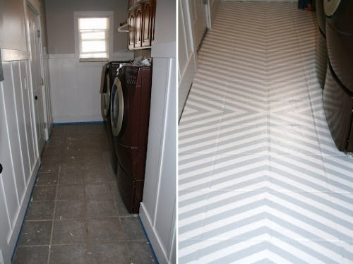 Diy Inspiration Painting Tile Floors American