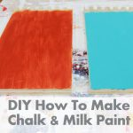 Diy Make Chalk Paint Milk