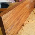 Diy Natural Wood Shelf Our House Now