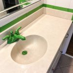 Diy Painted Bathroom Sink Countertop Bless