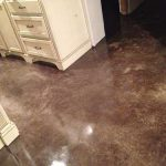 Diy Painted Stained Concrete Floors