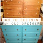 Diy Project Painting Old Dresser Curlz