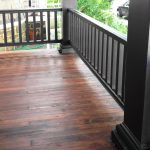 Diy Remove Paint Refinish Front Porch Wood Flooring Before After She