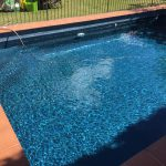 Domestic Pool Painted Luxapool Epoxy Swimming Paint Slate