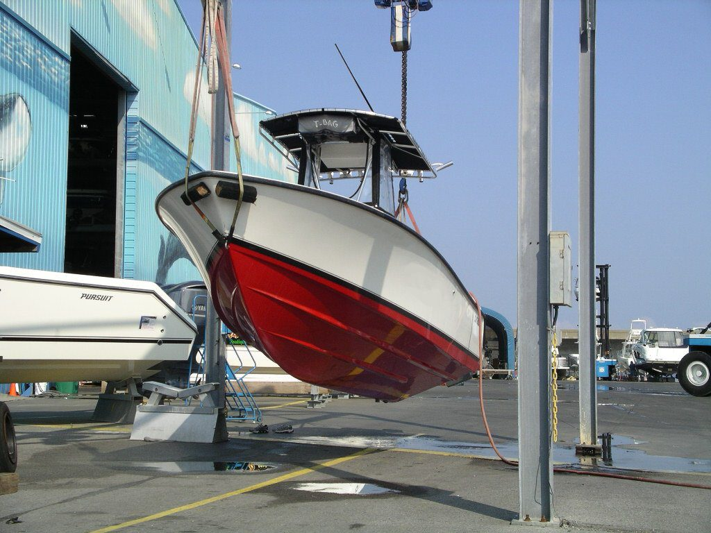 Done Bottom Paint Contender Before After Hull Truth Boating Fishing