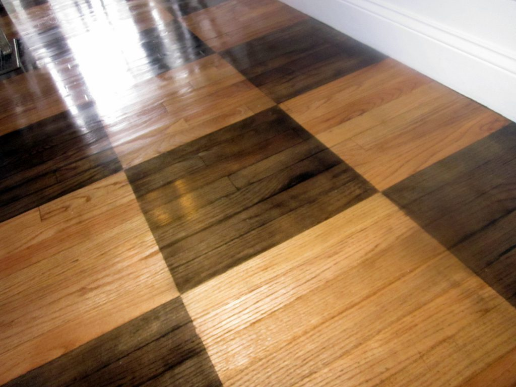 Down Earth Style Paint Rug Wood