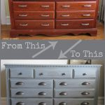 Dresser Makeover Americana Decor Chalky Finish