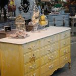 Dresser Transformed Using Colors American Paint