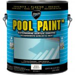 Dyco Paints Pool Paint Gal White Semi Gloss Acrylic Exterior Dyc