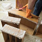 Easily Remove Paint Varnish Old Furniture
