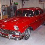 Eastwood Quarter Mile Candy Red Single Stage
