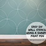 Easy Diy Wall Stencil Paint