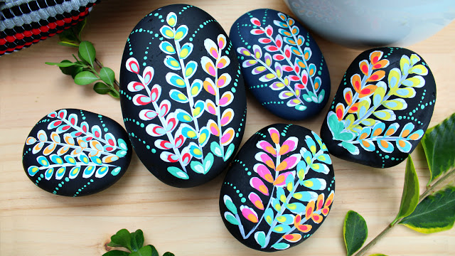 Easy Rock Painting Ideas Beginners Love Painted