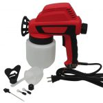 Electric Airless Air House Gun Sprayer Fence Room Painting Less Paint