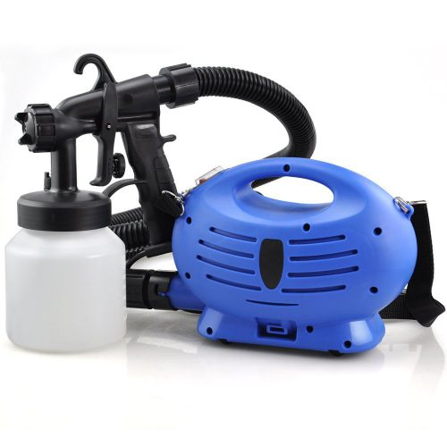 Electric Paint Sprayer Zoom Spray Gun Decorating Fence Diy Tool Oypla