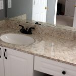 Enroute Life Painted Faux Granite Countertops Master Bathroom Transformation