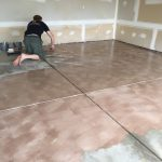 Epoxy Coated Our Garage Floor Lived