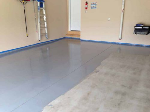 Epoxy Floor Coating Resist Chemicals Abrasion Impact