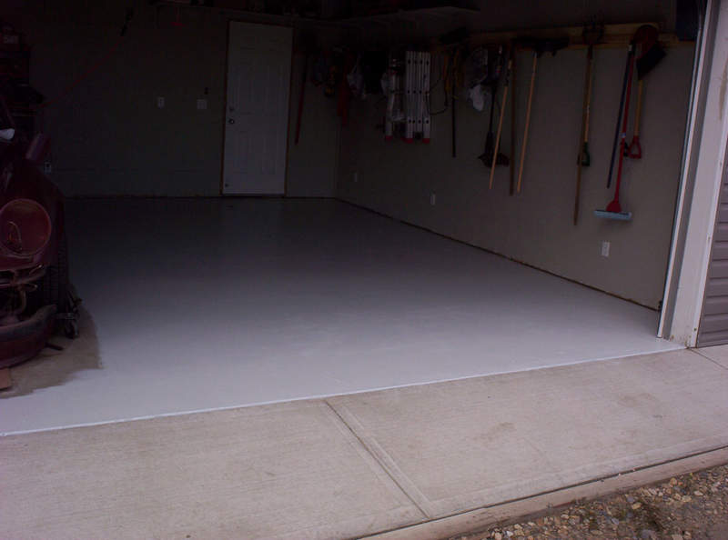 Epoxy Garage Floor Sherwin Williams Paint