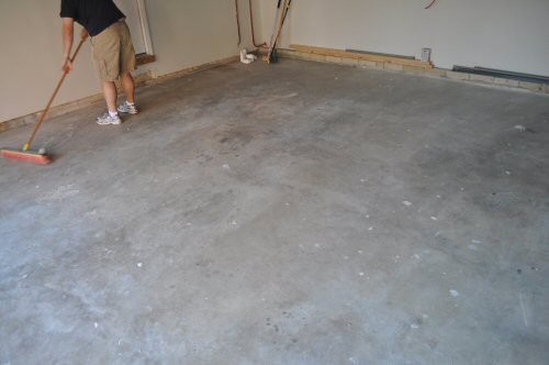 Epoxy Paint Concrete Floor