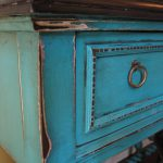European Paint Finishes Turquoise Accent