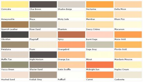 Exterior Paint Color Chart House Chip Sample Swatch