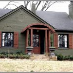 Exterior Paint Color Combinations Red Brick Home