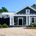 Exterior Paint Colors Blue Color Schemes White House