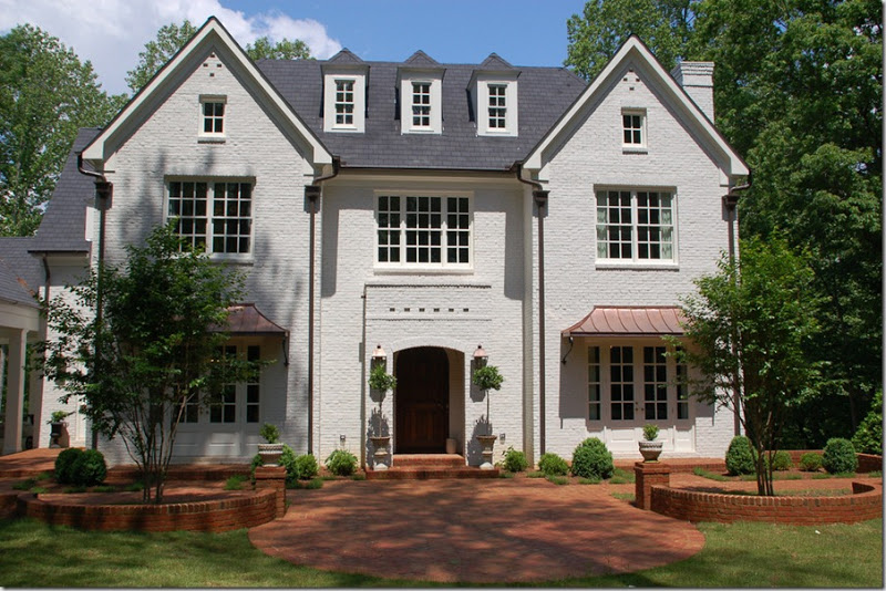 Exterior Painted Brick Houses
