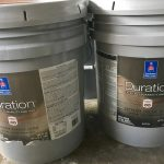 Exterior Sherwin Williams Duration Gallon Bucket Each New Paint Never